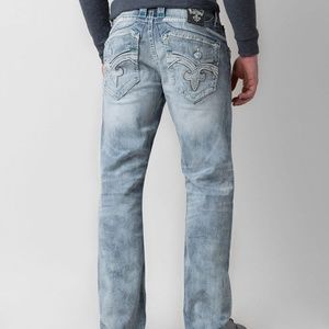 Rock Revival Feeney Relaxed Straight Jean